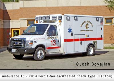 Chicago FD Ambulance 13