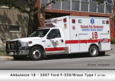 Chicago FD Ambulance 18