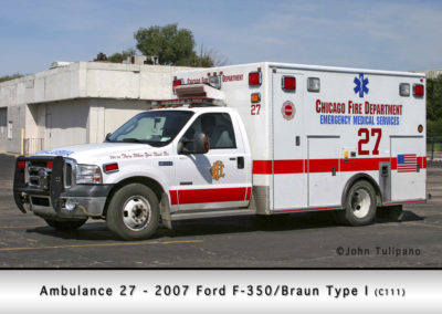Chicago FD Ambulance 27
