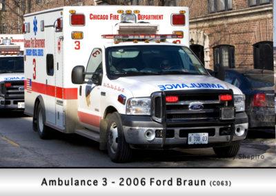 Chicago FD Ambulance 3