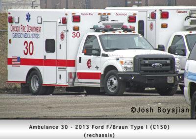 Chicago FD Ambulance 30