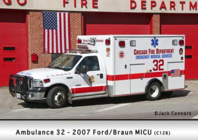 Chicago FD Ambulance 32