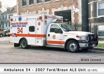 Chicago FD Ambulance 34