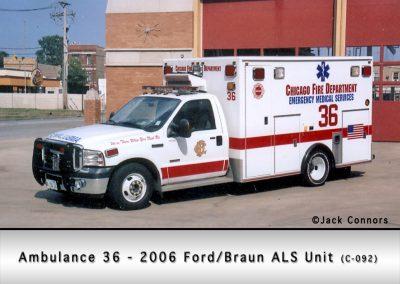 Chicago FD Ambulance 36