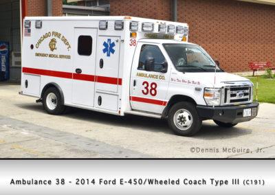 Chicago FD Ambulance 38