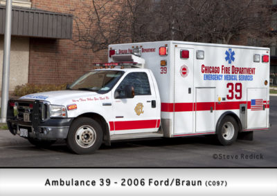 Chicago FD Ambulance 39