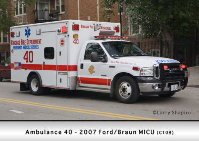 Chicago FD Ambulance 40
