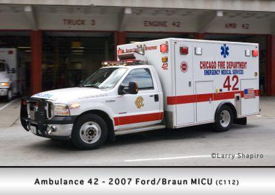 Chicago FD Ambulance 42