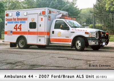 Chicago FD Ambulance 44