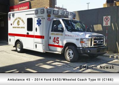 Chicago FD Ambulance 45