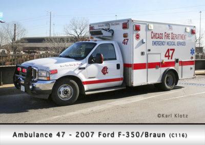 Chicago FD Ambulance 47