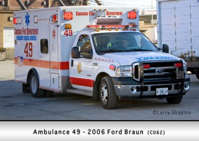 Chicago FD Ambulance 49
