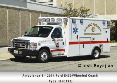 Chicago FD Ambulance 4