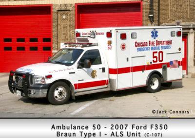 Chicago FD Ambulance 50