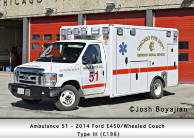 Chicago FD Ambulance 51