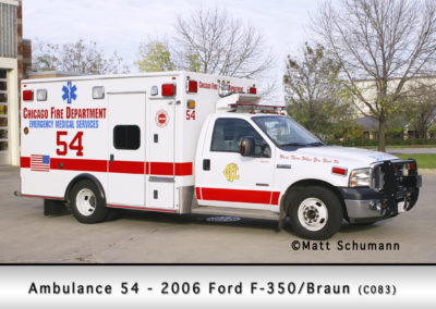 Chicago FD Ambulance 54