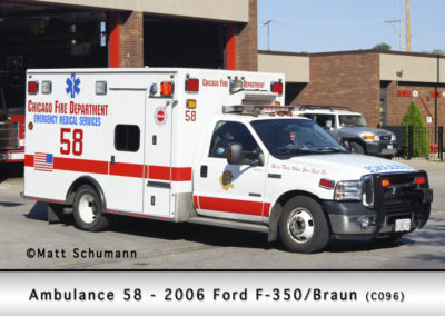 Chicago FD Ambulance 58