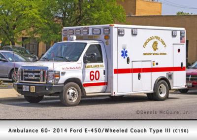 Chicago FD Ambulance 60