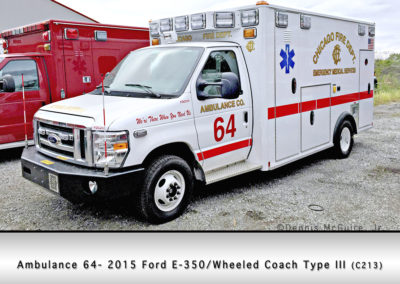 Chicago FD Ambulance 64