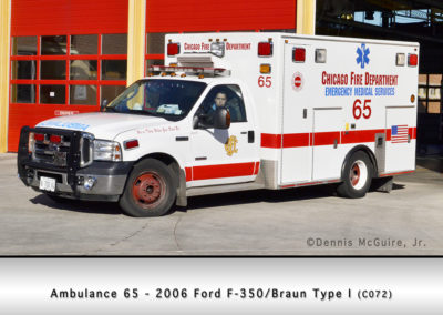 Chicago FD Ambulance 65