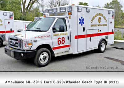 Chicago FD Ambulance 68