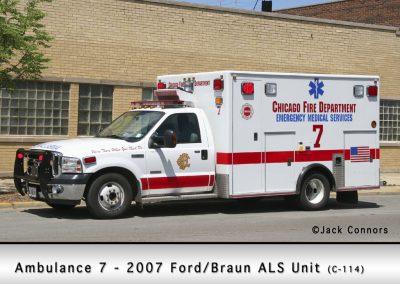 Chicago FD Ambulance 7