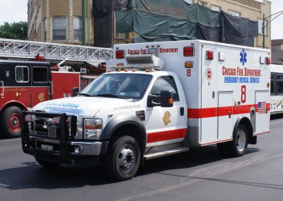 Chicago FD Ambulance 8