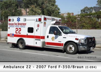 Chicago FD Ambulance 22