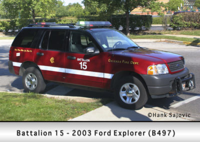 Chicago FD Battalion 15