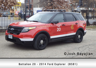 Chicago FD Battalion 20