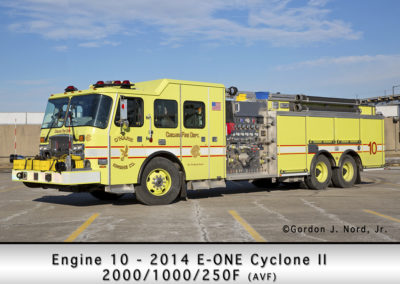 Chicago FD Engine 10 at O'Hare Airport