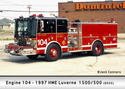 Chicago FD Engine 104