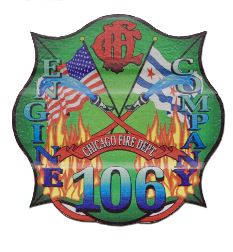 Chicago FD Engine 106's decal