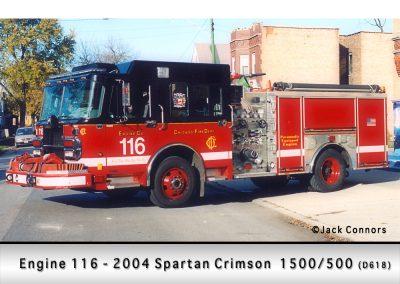 Chicago FD Engine 116