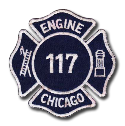 Chicago FD Engine 117's patch