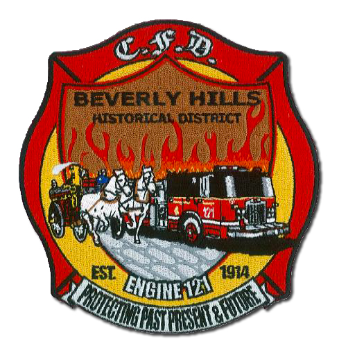 Chicago FD Engine 121's patch