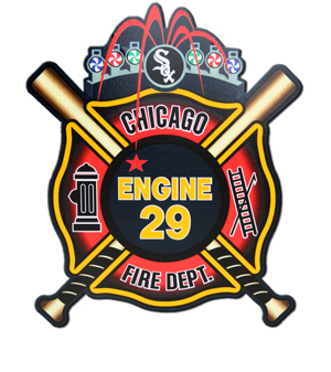 Chicago FD Engine 29's decal
