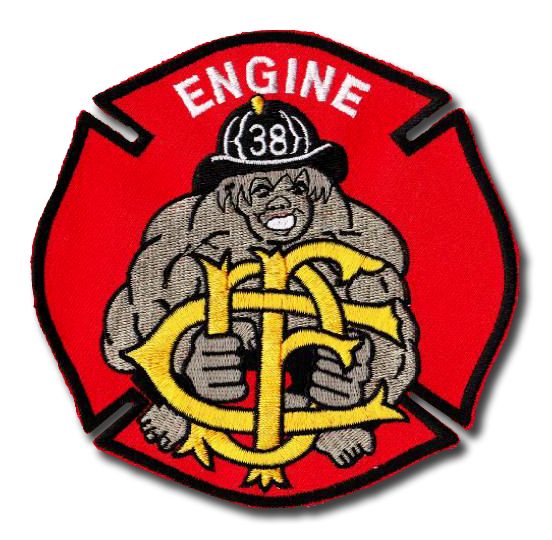 Chicago FD Engine 38's patch