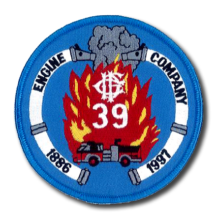 Chicago FD Engine 39's patch
