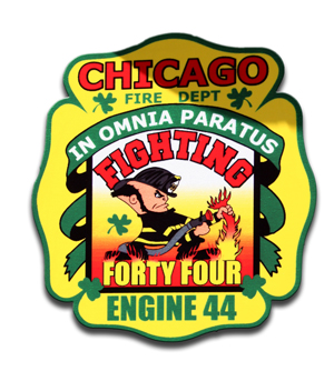 Chicago FD Engine 44's decal