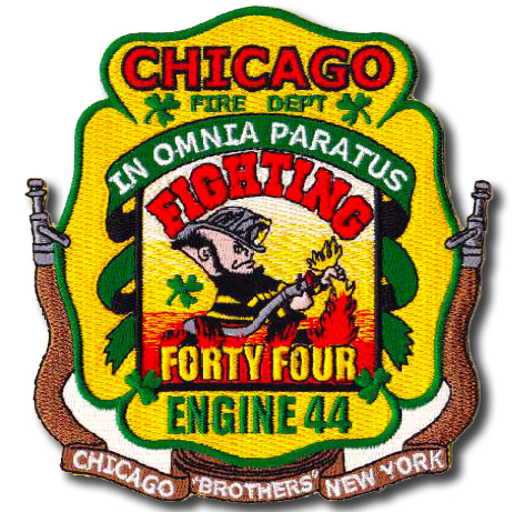 Chicago FD Engine 44's patch