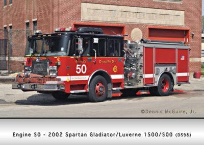 Chicago FD Engine 50