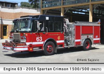 Chicago FD Engine 63