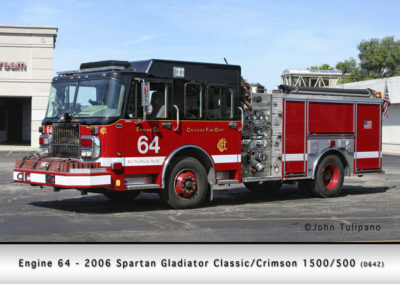 Chicago FD Engine 64
