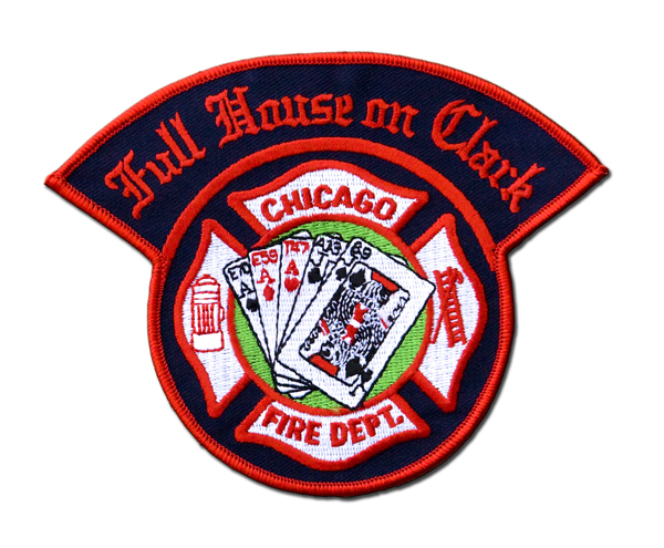 Chicago FD Full House patch