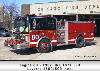 Chicago FD Engine 80