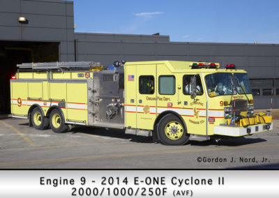 Chicago FD Engine 9 at O'Hare Airport