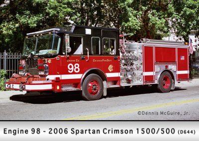 Chicago FD Engine 98