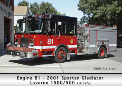 Chicago FD Engine 81