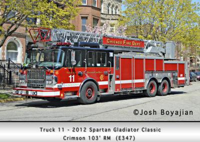 Chicago FD Truck 11